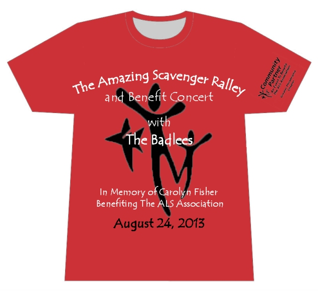 The Amazing Scavenger Ralley Official T-shirt